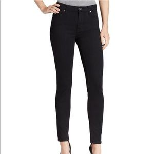 Slim Illusion Luxe High Waist Skinny Jeans Black